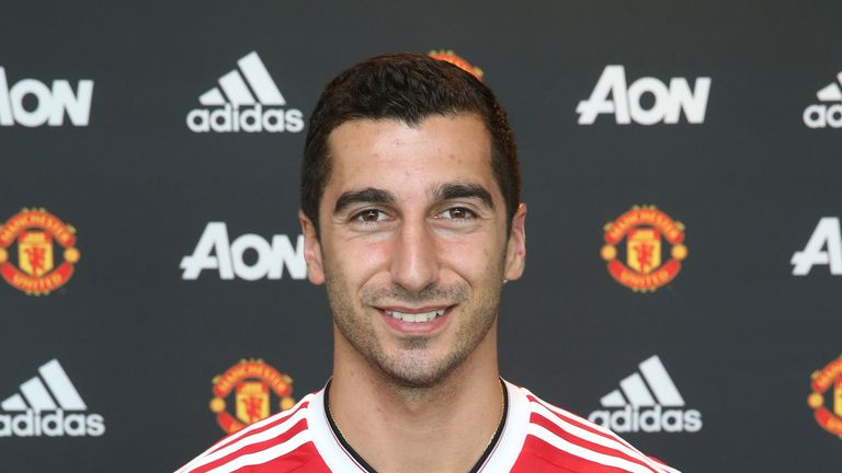 Mkhitaryan has the option of a fifth year which could see him stay until 2021