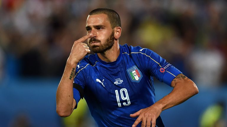 Leonardo Bonucci saw his social media following grow rapidly during the tournament