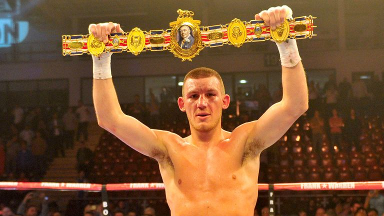 Liam Williams won the vacant British super-welterweight title in 2015