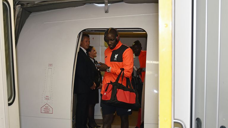 Sakho was part of Liverpool's pre-season tour of the United States but was sent home early