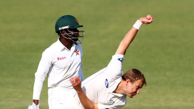 Neil Wagner six-fer flattens Zimbabwe on day one