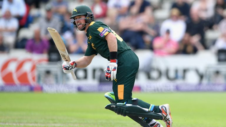 Dan Christian continued his fine form for Nottinghamshire in this year's Vitality Blast