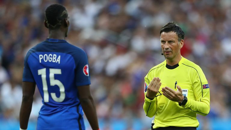 Pogba reached the final of Euro 2016 with his national side France
