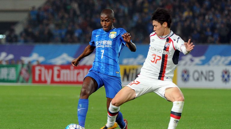 Jiangsu Suningmidfielder Ramires will be just one of the big-name players on show in the Chinese Super League on Sky Sports next season