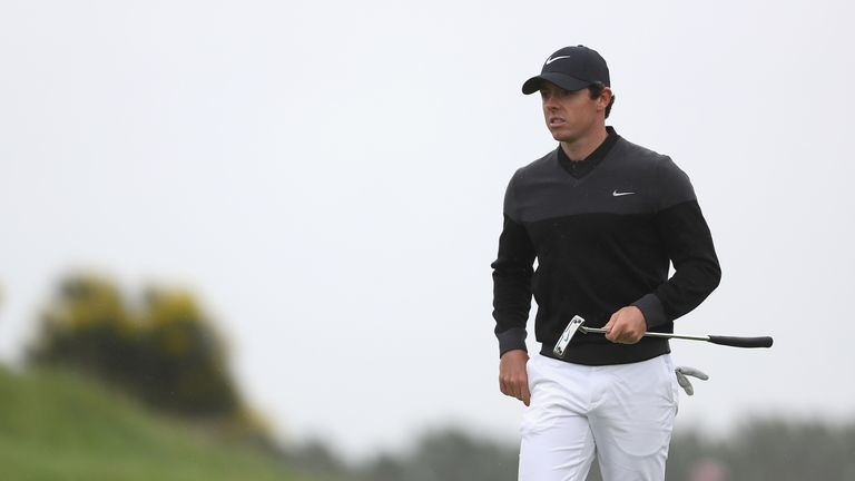 McIlroy carded one birdie and one bogey during a level-par 71 on Sunday