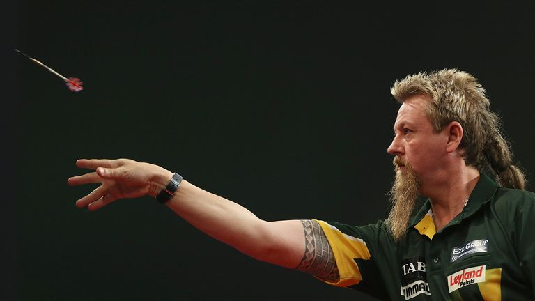 Taylor had earlier knocked out home favorite Simon Whitlock in the semi-finals (Lawrence Lustig/PDC)