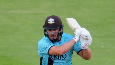 Aaron Finch in action for Surrey during last season