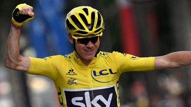 Chris Froome sealed his third Tour de France win on Sunday