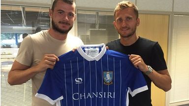 Pudil (left) and Abdi (right) will strengthen the Sheffield Wednesday squad (pic from @swfc)