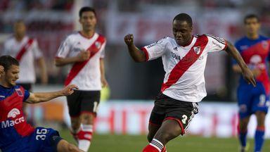 Balanta won the 2015 Copa Libertadores with River Plate