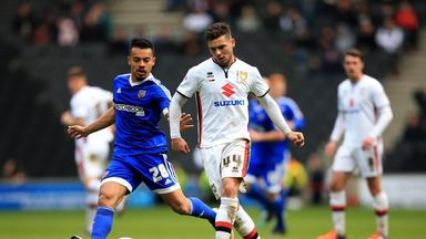 Jake Forster-Caskey  spent two loan periods on loan at MK Dons last season