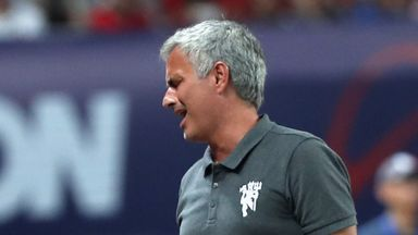 Jose Mourinho criticised the state of the pitch in Beijing at the weekend