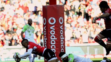 Lions' Elton Jantjies starred in the match that saw the Lions reach their first Super Rugby final