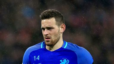 Vincent Janssen impressed for the Netherlands against England in May