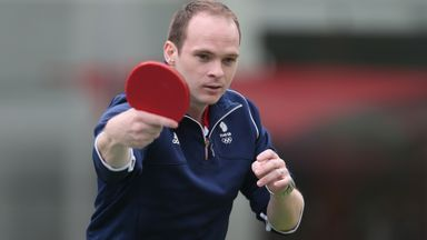 Paul Drinkhall and the British table tennis team has lost funding