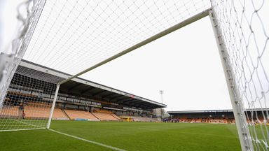 Mbamba has moved to Vale Park