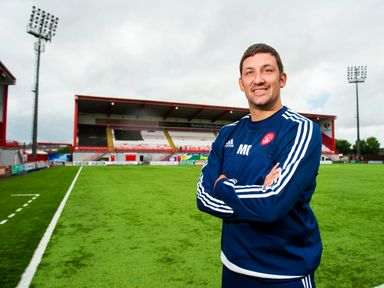 Martin Canning  is pleased with his Accies side