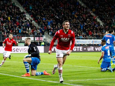 Vincent Janssen enjoyed a great season at AZ Alkmaar