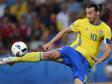 Ibrahimovic: Undergoing his Manchester United medical