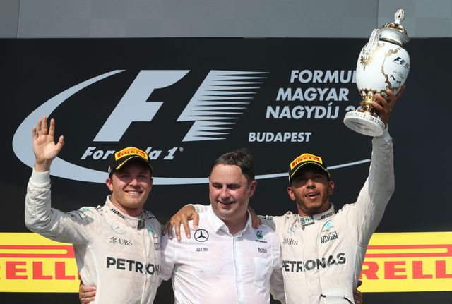 Lewis Hamilton now leads the championship after beating his rival in Hungary