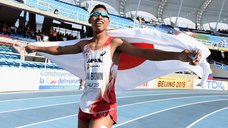 Abdul Hakim Sani Brown has already broken one of Bolt's records