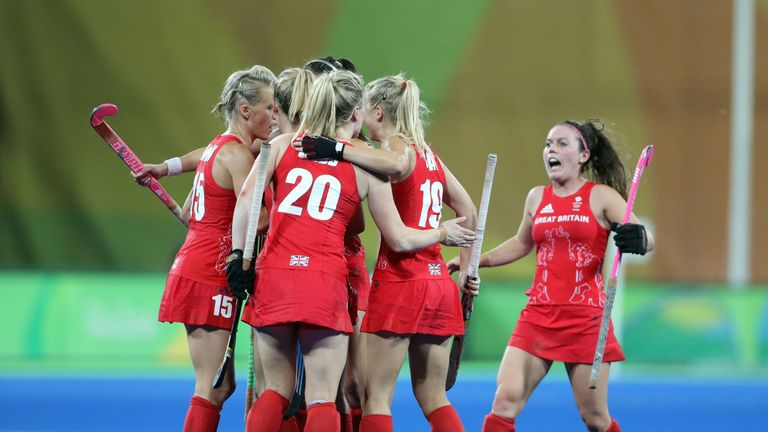 Danson was part of Great Britain's gold medal winning squad a the Rio Olympics