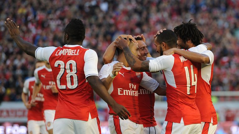 Arsenal kick off their Premier League campaign against Liverpool