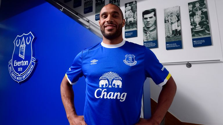 Ashley Williams moved to Everton from Swansea