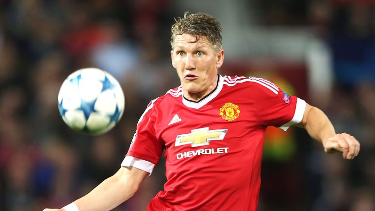The future of Bastian Schweinsteiger at Old Trafford remains unclear