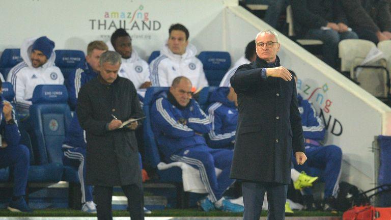 Jose Mourinho has previously taunted Claudio Ranieri for his lack of silverware