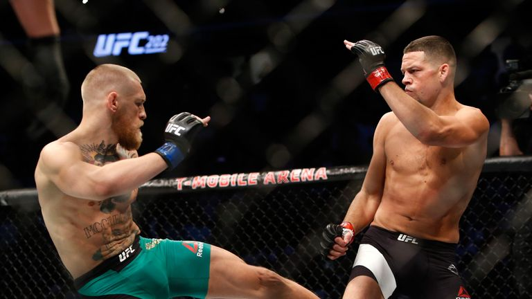 McGregor won a rematch after losing to Diaz