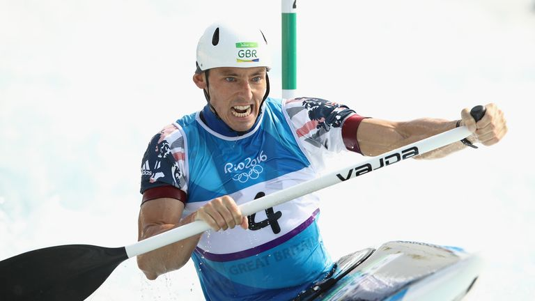 David Florence claimed silver medals at the last two Olympics Games