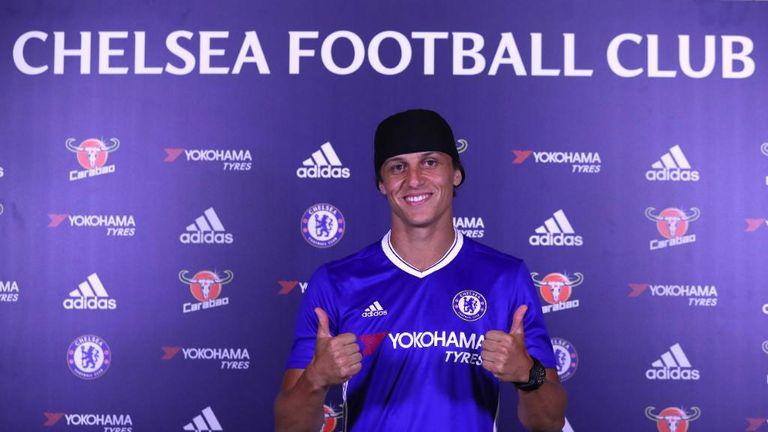 David Luiz has re-signed for Chelsea for £30m (Credit - Chelsea FC)