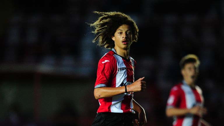 Ampadu trained with Wales' senior side ahead of Euro 2016
