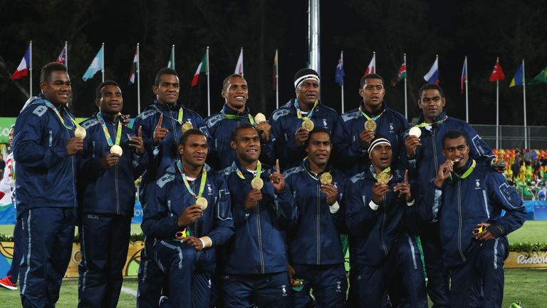 Image result for fijian rugby gold medal