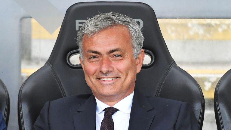 New Manchester United boss Jose Mourinho