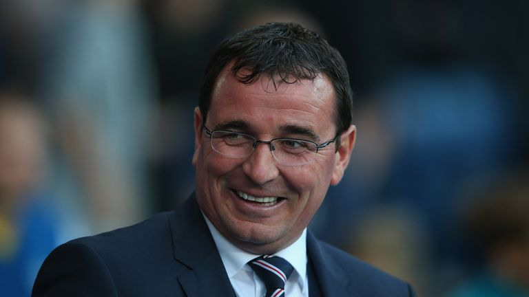 Blackpool boss Gary Bowyer
