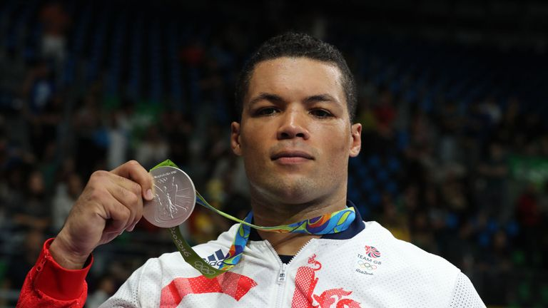 Joyce won silver in the super-heavyweight tournament at the Rio Games