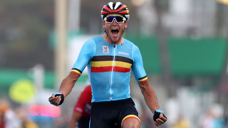 Olympic champion Greg Van Avermaet is in action this week