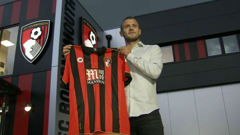 Wilshere joined the Cherries on a season-long loan on transfer deadline day