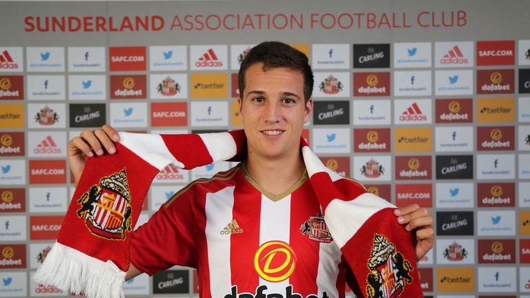 Javier Manquillo has joined Sunderland on loan