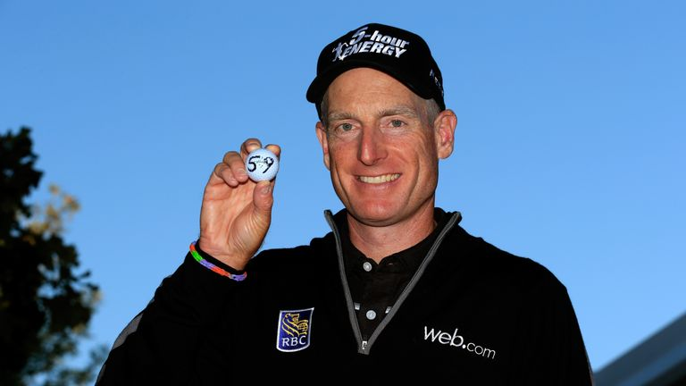 Furyk is the only player on the PGA Tour to ever shoot two rounds below 60