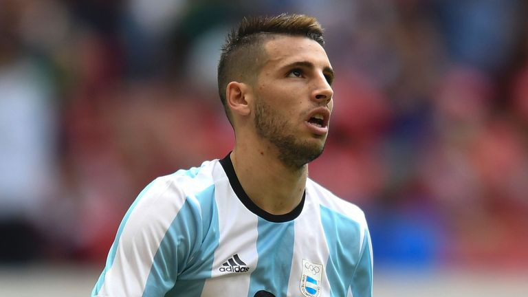 Jonathan Calleri made his debut for the Hammers in Romania