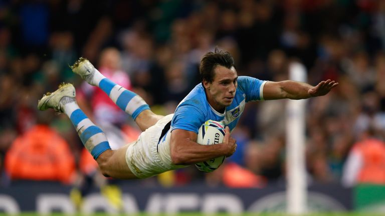 Imhoff has scored 21 tries in 35 Tests for the Pumas but has not played for his country since October 2015