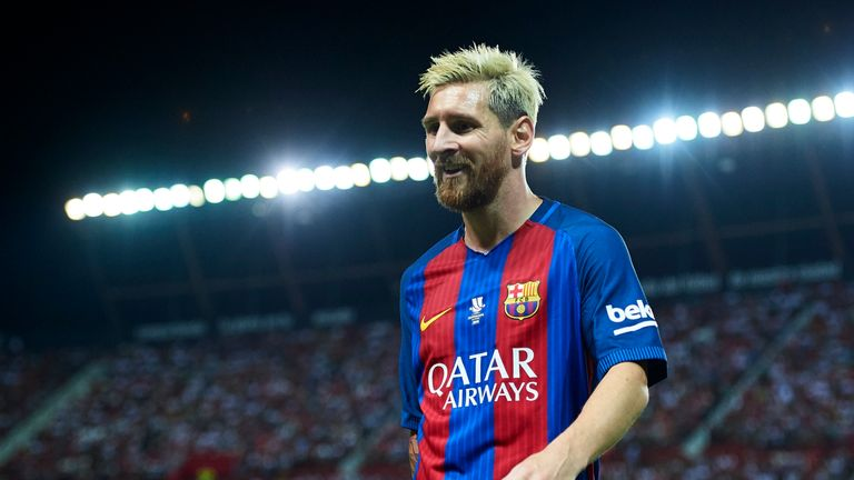 Lionel Messi scored 41 goals in all competitions last season