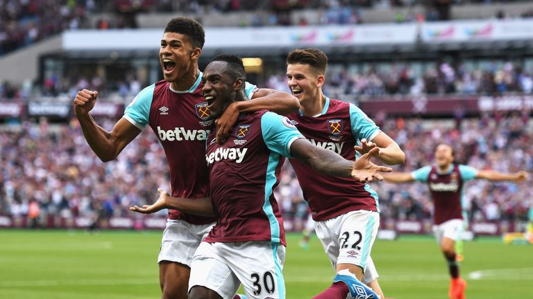 Michail Antonio is the league's joint-leading scorer