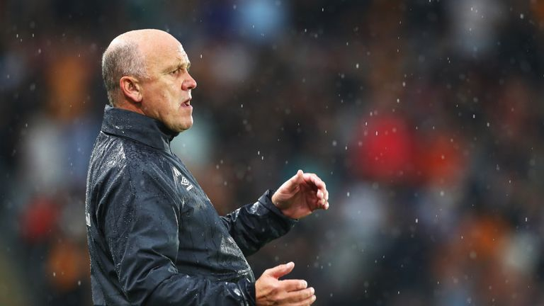 Mike Phelan is in temporary charge at Hull City