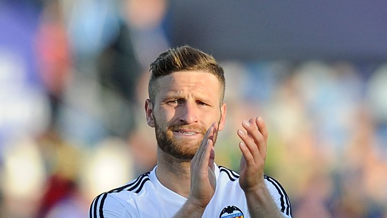 Shkodran Mustafi is also heading for the Emirates