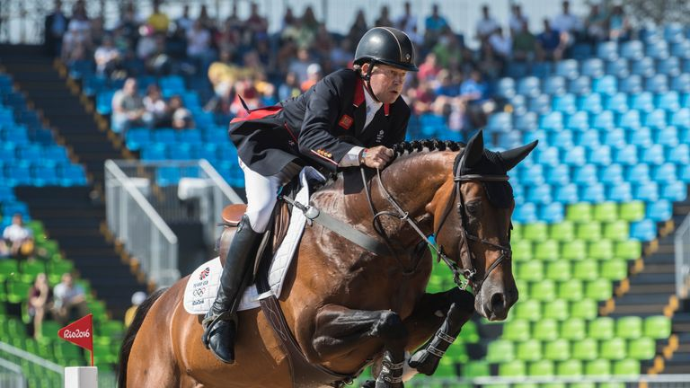 Olympic Gold Medal For Great Britain S Nick Skelton In