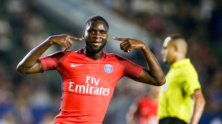 Celtic snaps up striker Edouard on loan from PSG